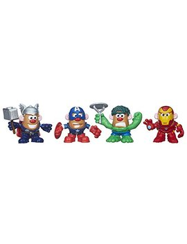 Mr. Potato Head Marvel Mixable Mashable Heroes Super Hero Collector Pack (Avengers) by Playskool