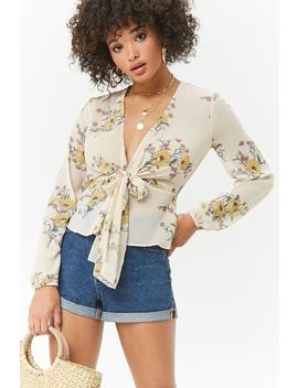 Top Floral Noué by Forever 21