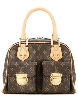 Manhattan Monogram Handbag by Louis Vuitton Vintage