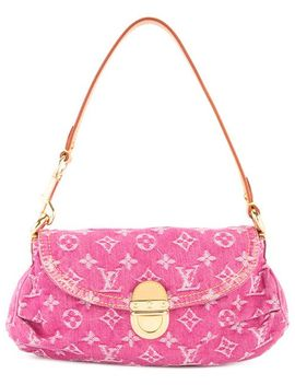 Mini Pretty Monogram Denim Shoulder Bag by Louis Vuitton Vintage