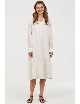 Robe En Cupro Mélangé by H&M