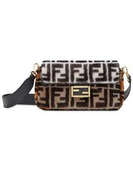 Colour Block Monogram Baguette Bag by Fendi