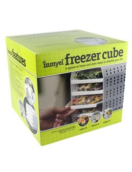 Inmyel Freezer Cube, A System To Freeze And Store Homemade Ready To Heat And Eat Meals In Zipper Closure Freezer Bags. by Inmyel