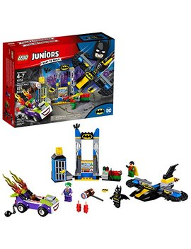 Lego Juniors/4+ Dc The Joker Batcave Attack 10753 Building Kit (151 Piece) by Lego