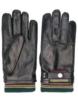 Ribbed Top Gloves by Paul Smith