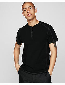 Moisture Wicking Seamed Signature Henley by Express