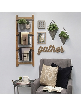 Basket Wall Ladder by Kirkland's
