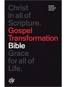 Esv Gospel Transformation Bible (Black) by Amazon