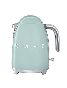 Smeg Klf03 Pgus 50's Retro Style Aesthetic Electric Kettle With Embossed Logo, Pastel Green by Smeg