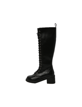 Lace Up Knee High Boots by Stylenanda