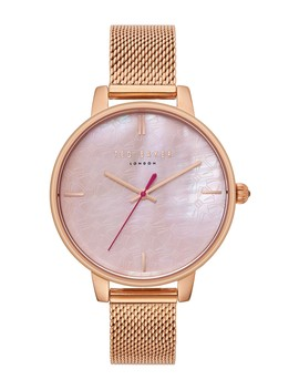 Women's Quartz Mesh Bracelet Watch by Ted Baker London