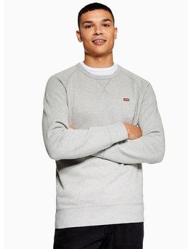 Levi's Grey 'icon' Sweatshirt by Topman