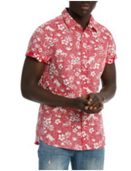 Honolulu Short Sleeve Print Shirt by Maddox