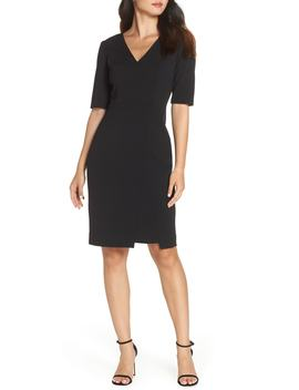 Scuba Crepe Dress by Vince Camuto