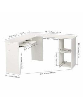 Ebern Designs Seaton L Shape Executive Desk With Hutch by Ebern Designs