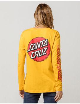 Santa Cruz Convert Yellow Womens Tee by Santa Cruz