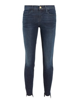 Le Skinny De Jeanne Raw Stagger Jeans by Frame