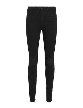 Marguerite Black Skinny Jeans by L'agence