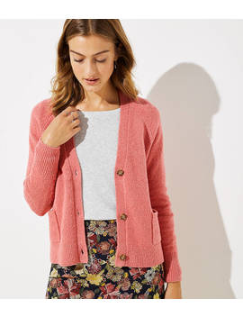 V Neck Pocket Cardigan by Loft