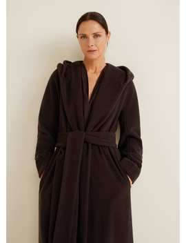 Long Recycled Wool Coat by Mango