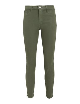 Margot Coated Green Jeans by L'agence