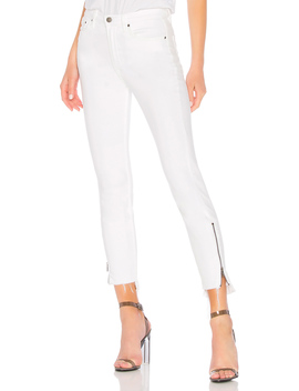 Kendall High Rise Zipper Jean by Grlfrnd