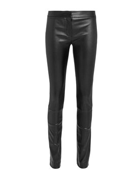 Hanne Leather Leggings by Derek Lam