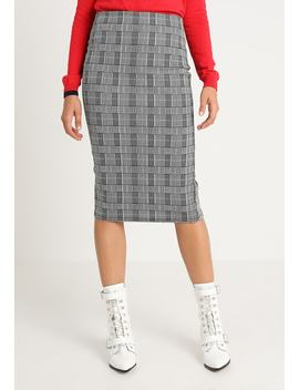 Check Pencil Skirt   Bleistiftrock by Dorothy Perkins