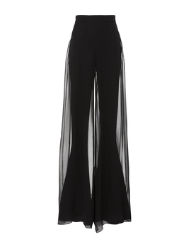Erie Chiffon Flare Pants by Cushnie