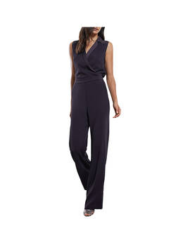 Reiss Tux Front Jumpsuit, Navy by Reiss