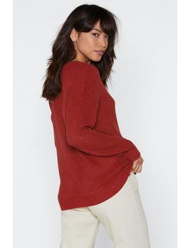 Fish Around Fisherman Sweater by Nasty Gal