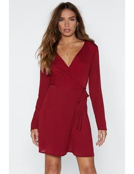 Under Wraps Mini Dress by Nasty Gal