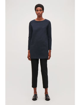 Long Sleeved Jersey Tunic by Cos