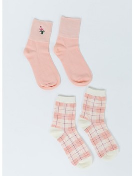 Flamingo Socks 2 Pack by Princess Polly