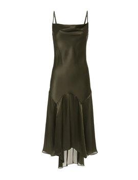 Teardrop Slip Midi Dress by Fleur Du Mal