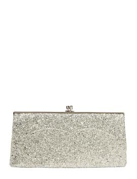 Glitter Pochette Clutch by Victoria Beckham