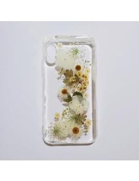 Handmade Real Pressed Dried Flower Case, I Phone X 6 6s 7 8 Plus Se Xr Xs Max Case, Samsung Galaxy S6 S7 Edge  S8+ S9+ Note 9 Case, Lg G7 V30 by Etsy