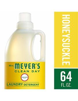 Mrs. Meyer's Laundry Detergent, Honeysuckle, 64 Fluid Ounce by Mrs. Meyers