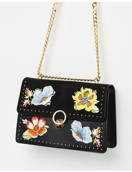 Scilla Embroidered Shoulder Bag by Topshop