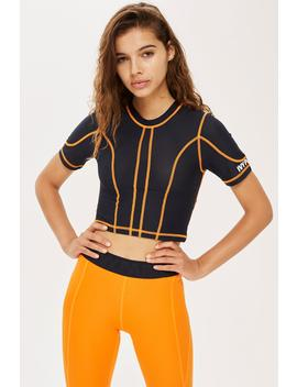 Stitch Mesh Crop Top By Ivy Park by Topshop