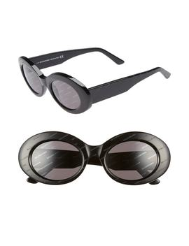 51mm Oval Sunglasses by Balenciaga