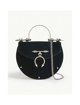 Velvet Oval Bag by Okhtein