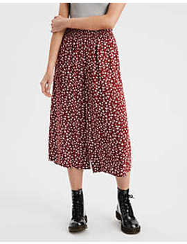 Ae Smocked Waist Culottes by American Eagle Outfitters