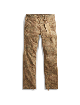 Slim Camo Cotton Blend Pant by Ralph Lauren