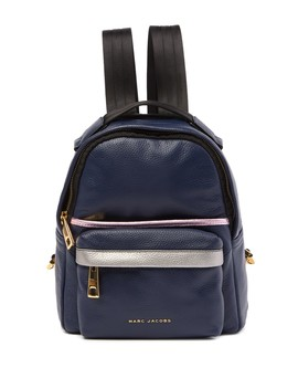 Metallic Varisty Pack Small Leather Backpack by Marc Jacobs