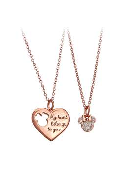 Minnie Mouse Necklace Set by Disney