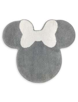 Minnie Mouse Gold Tufted Bath Rug by Disney