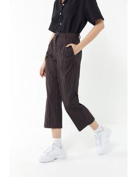 Urban Renewal Remnants Stripe Wide Leg Trouser Pant by Urban Renewal