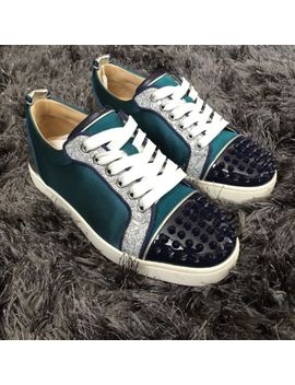 Christian Louboutin Blue Trainers 3 Uk 36 3 by Ebay Seller