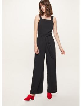 Black Wide Leg Jumpsuit by Miss Selfridge